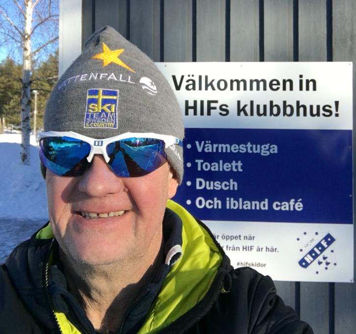 """""""Glada Hudik är redo att ta emot åkare och publik"""", säger Lasse """"Blixten"""" Jonsson."""