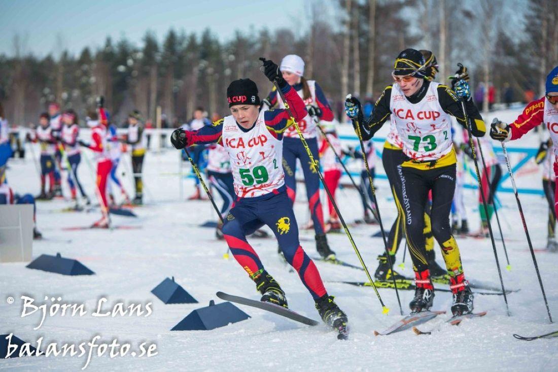 8-10 mars är det dags för ICA cup i Bollnäs med spännande tävlingar. FOTO: Björn Lans, balansfoto.se.