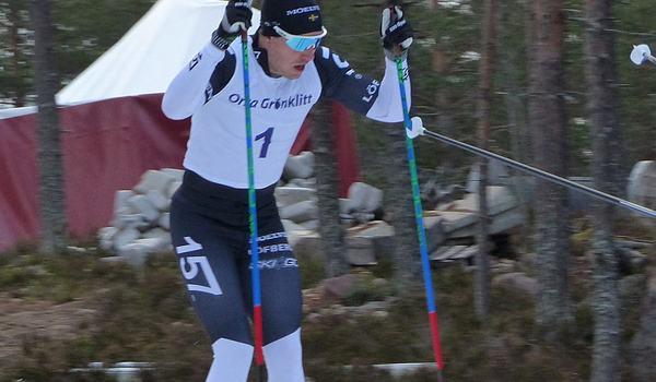 Anton Karlsson vann Bessemerloppet i Högbo 34 sekunder före Rikard Tynell. FOTO: Johan Trygg/Längd.se.