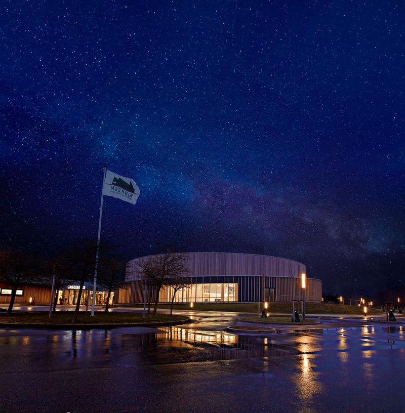 Bilde av konferansesenteret på Musholm