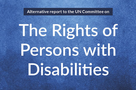 Ingressbilde til artikkel om rapporten The Rights of Persons with Disabilities