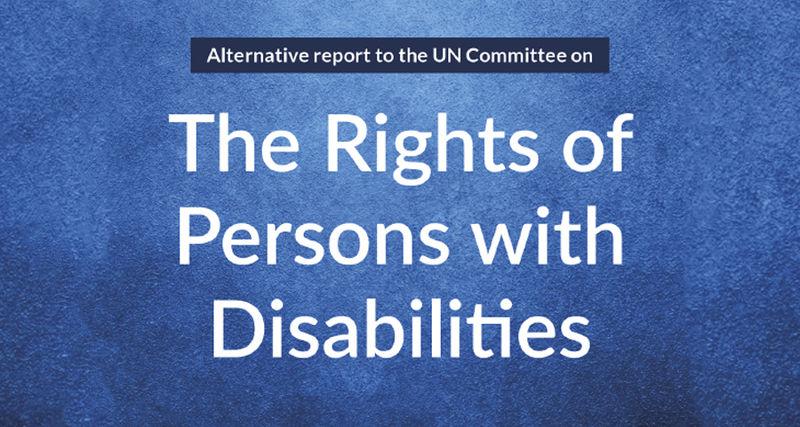 Ingressbilde til artikkel om rapporten The Rights of Persons with Disabilities