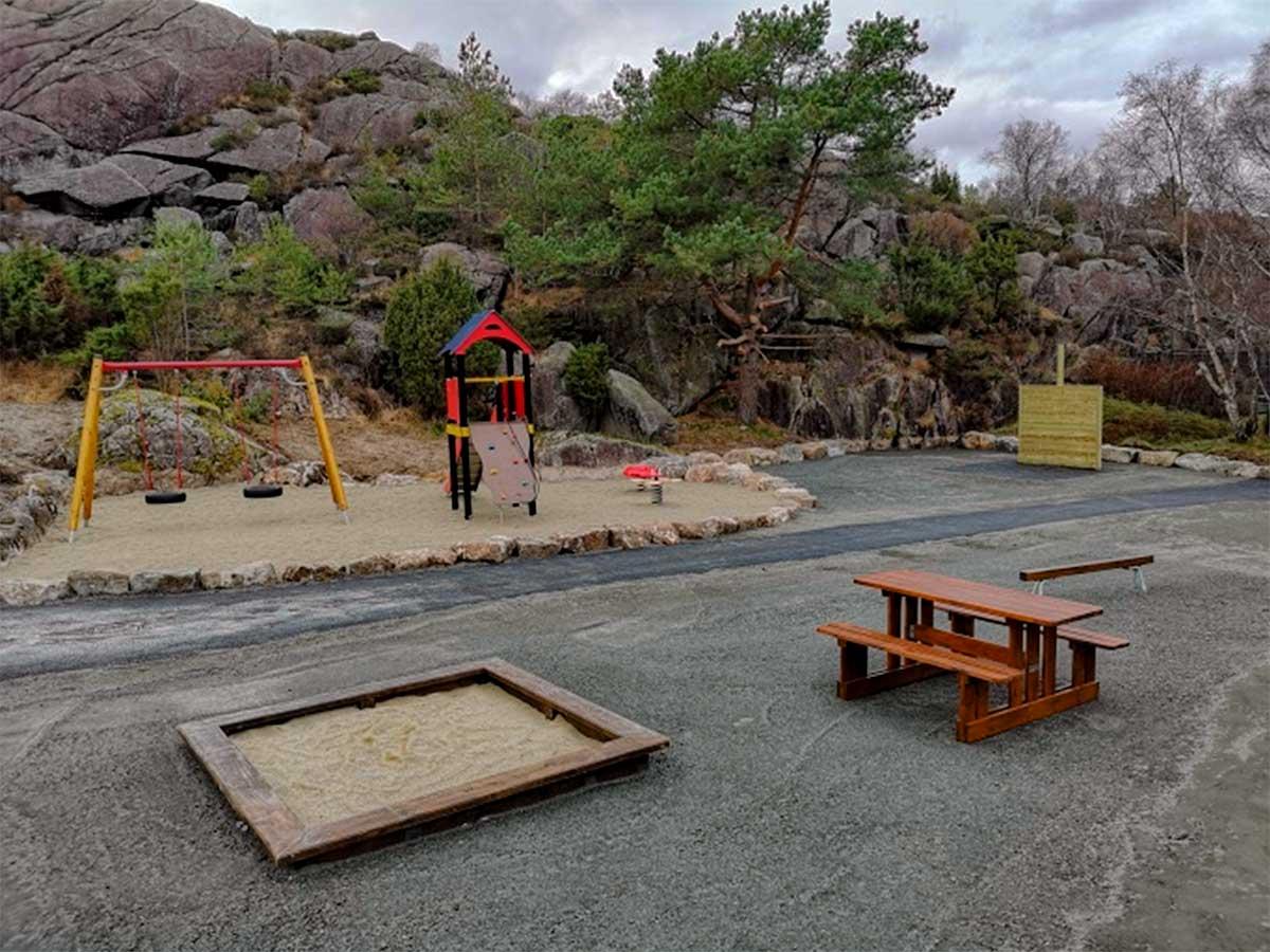 Lekeplass ved Langevann