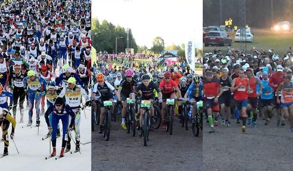 Vasaloppskommunerna Malung-Sälen, Mora och Älvdalen får stora turistekonomiska effekter av Vasaloppets evenemang - det omsätts hissnande 419,1 miljoner kronor i boende och konsumtion. FOTO: Vasaloppet.