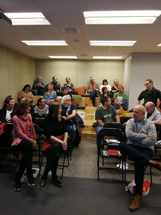 30 deltakarar var samla i Næringshagen