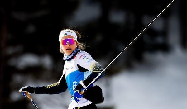 Är Stina Nilsson redo för en guldkamp på VM-sprinten? I morgon vet vi. FOTO: Vegard Wivestad Grött/Bildbyrån.