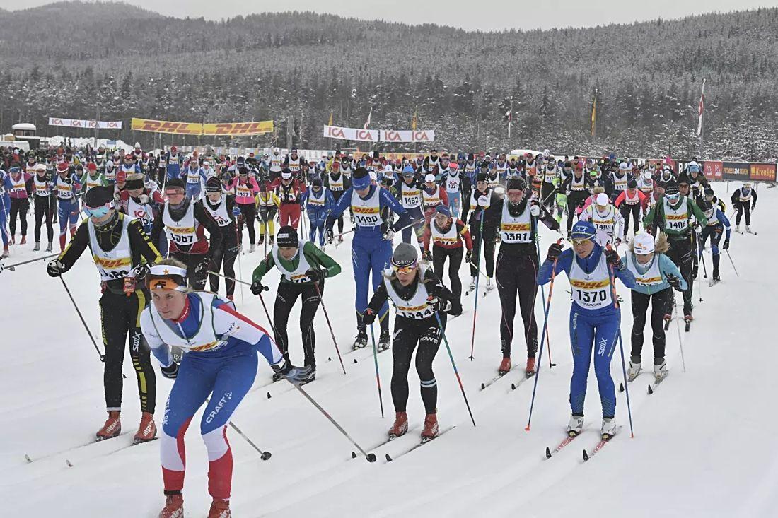 På lördag är det dags för 31:a upplagan av Tjejvasan mellan Oxberg och Mora. FOTO: Vasaloppet.