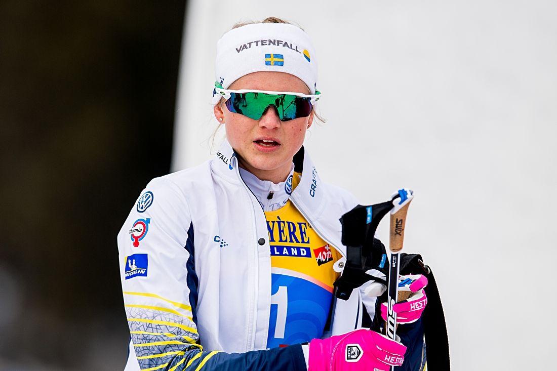 Maja Dahlqvist blir avslutare för Sverige på VM:s sprintstafett i morgon. FOTO: Vegard Wivestad/Grött.