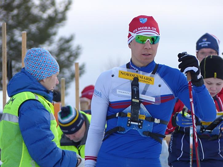 Andrey Lamov vann SM-guld nio sekunder före klubbkompisen Linus Rapp. FOTO: Johan Trygg/Längd.se.