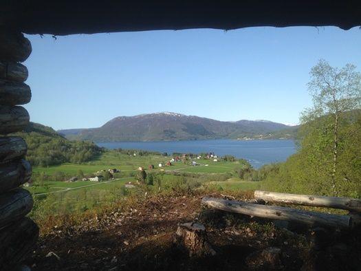 Utsikt fra gapahuk Nonskar