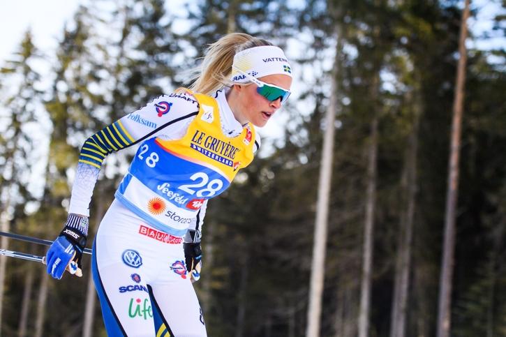 Frida plockade ut allt som fanns och det räckte hela vägen till VM-silver. FOTO: Johanna Lundberg/Bildbyrån.