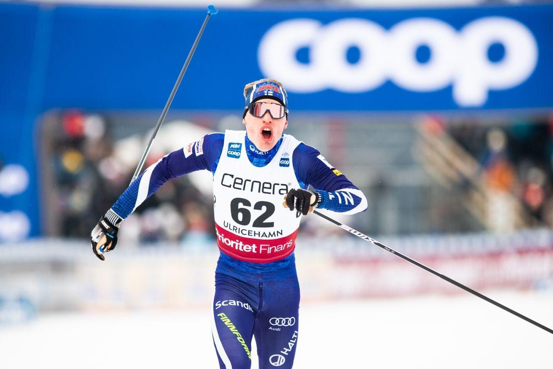Kommer Iívo Niskanen att försvara sitt VM-guld på 15 kilometer klassiskt i eftermiddag? FOTO: Mathias Bergeld/Bildbyrån.