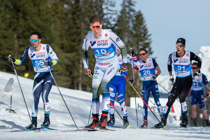Calle Halfvarsson tog sin bästa individuella placering på ett mästerskap med dagens sjätteplats. FOTO: Johanna Lundberg/Bildbyrån.