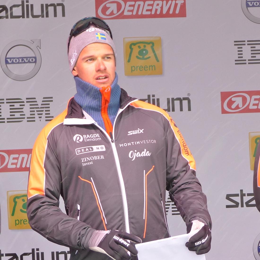 Oskar Kardin blev bäste svensk som nia. FOTO: Johan Trygg/Längd.se.