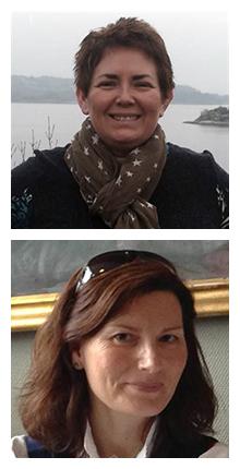 Bilde av artikkelforfatter Inger Helen Midtgård og Karen Reimers