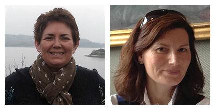 Bilde av artikkelforfatterne Inger Helen Midtgård og Karen Reimers