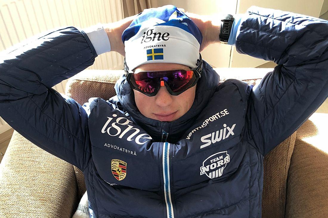 Niklas Henriksson, Team Igne, blev tredje svensk på 20:e plats i Vasaloppet. FOTO: Team Igne.