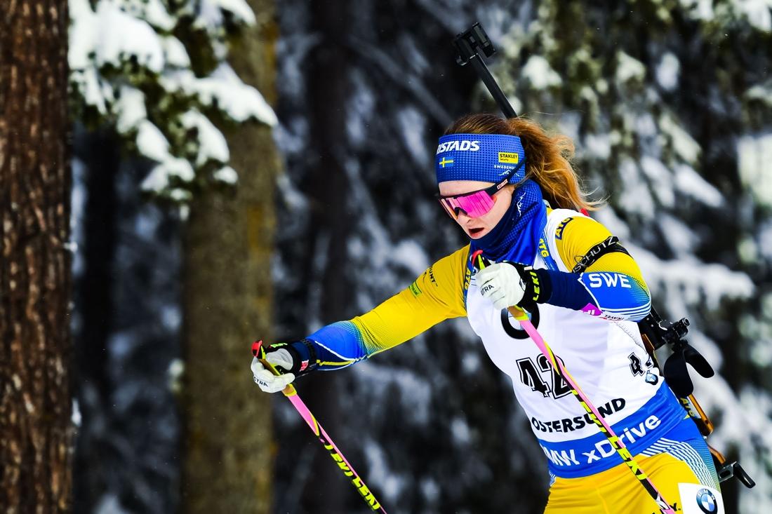 Mona Brorsson gjorde ett topplopp och blev VM-femma. FOTO: Petter Arvidson/Bildbyrån.