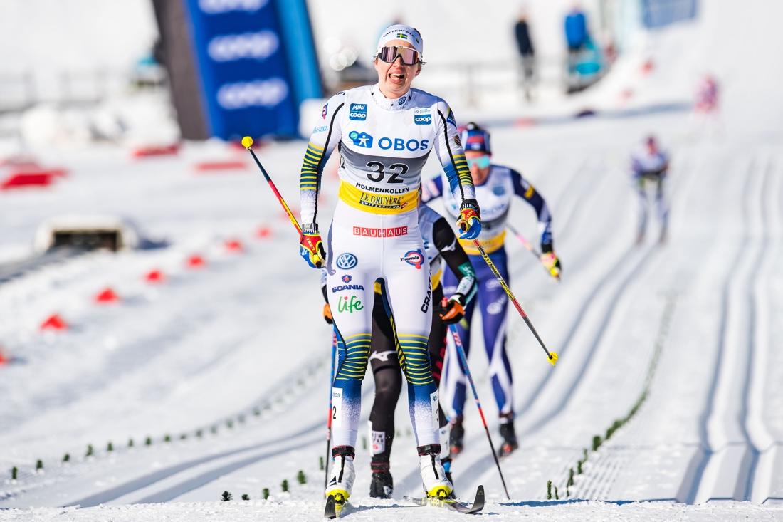 Evelina Settlin tog en stark niondeplats. FOTO: Jon Olav Nesvold/Bildbyrån.