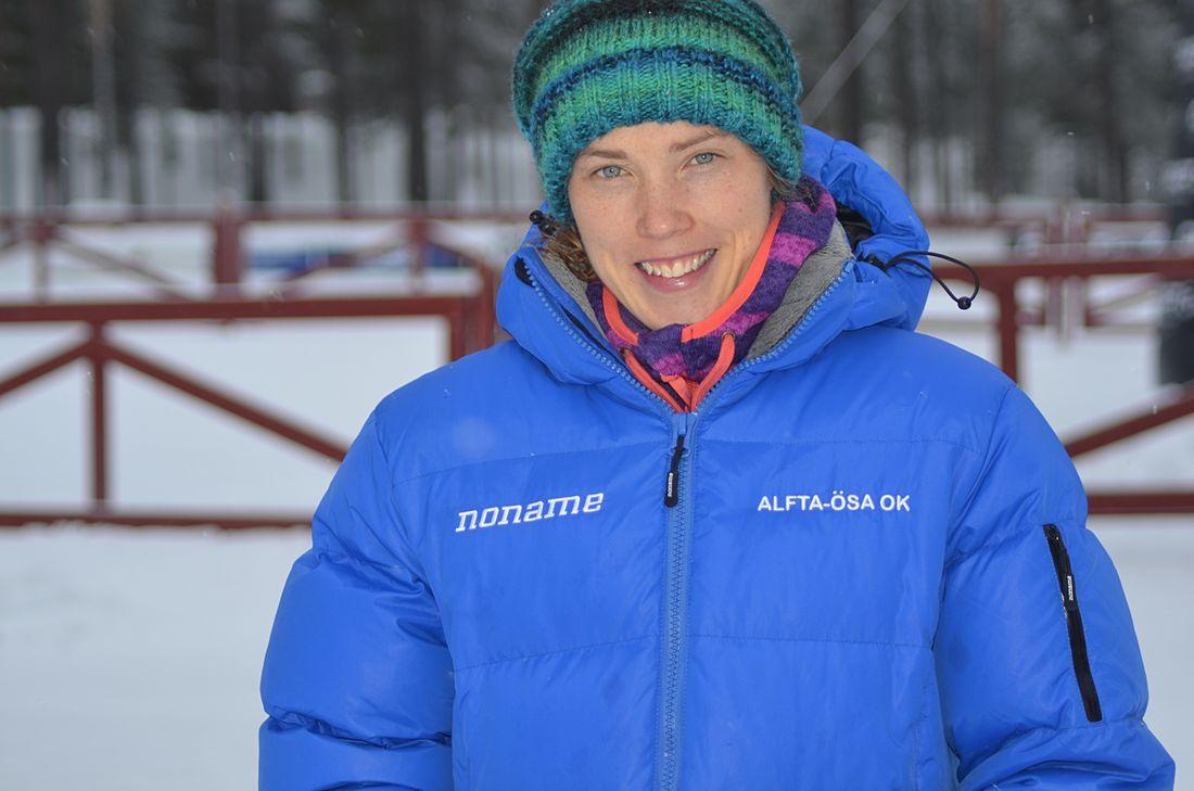Tove Alexandersson tog guld två dagar i rad när SM i skidorientering avgjordes i Malung i helgen. FOTO: Johan Trygg/Längd.se.