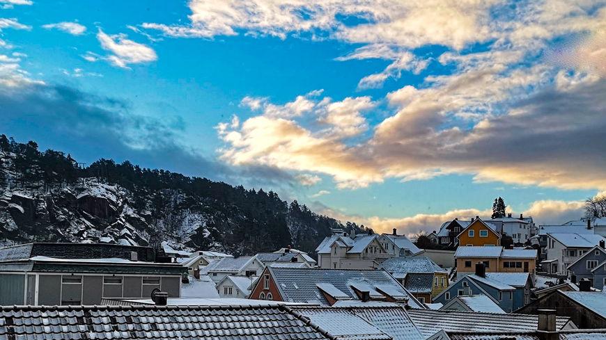 Utsikt med snø