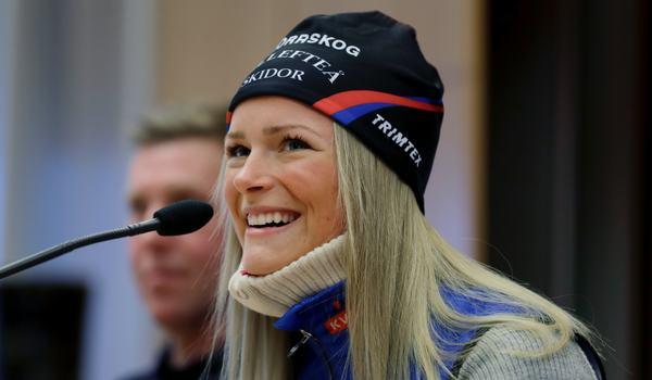Frida Karlsson åker världscupavslutningen i Québec, Kanada, 22-24 mars. FOTO: Mats Andersson/Bildbyrån.