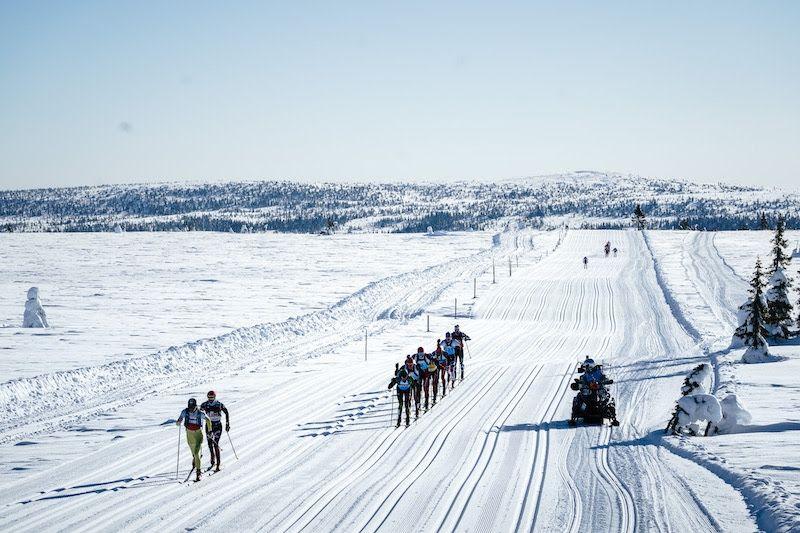 Birkebeinerrennet mellan Rena och Lillehammer avgörs lördagen den 16 mars. FOTO: Visma Ski Classics.