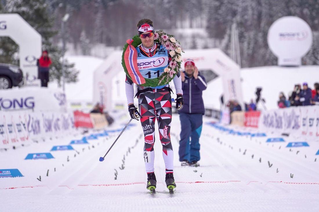 Petter Eliassen var helt suverän i Birkenbeinerrennet. FOTO: Visma Ski Classics/Tom-William Lindström.