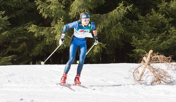 Tove Alexandersson ser fram emot VM i skidorientering som avgörs i Piteå och startar med långdistans på onsdag. FOTO: Svenska orienteringsförbundet.