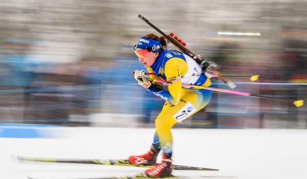 Linn Persson var bäst av de svenska tjejerna på sprinten i Holmenkollen med en åttondeplats. FOTO: Petter Arvidson/Bildbyrån.