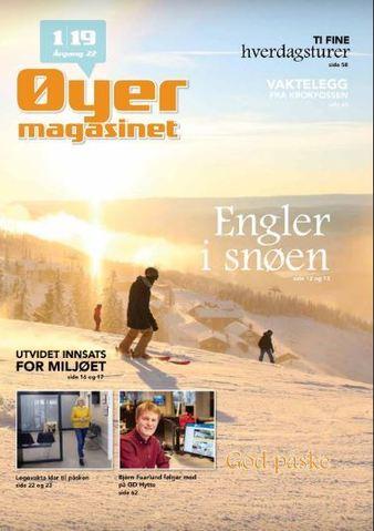 Forsidebilde Øyermagasinet mars 2019