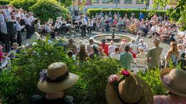 Egersund visefestival i parken