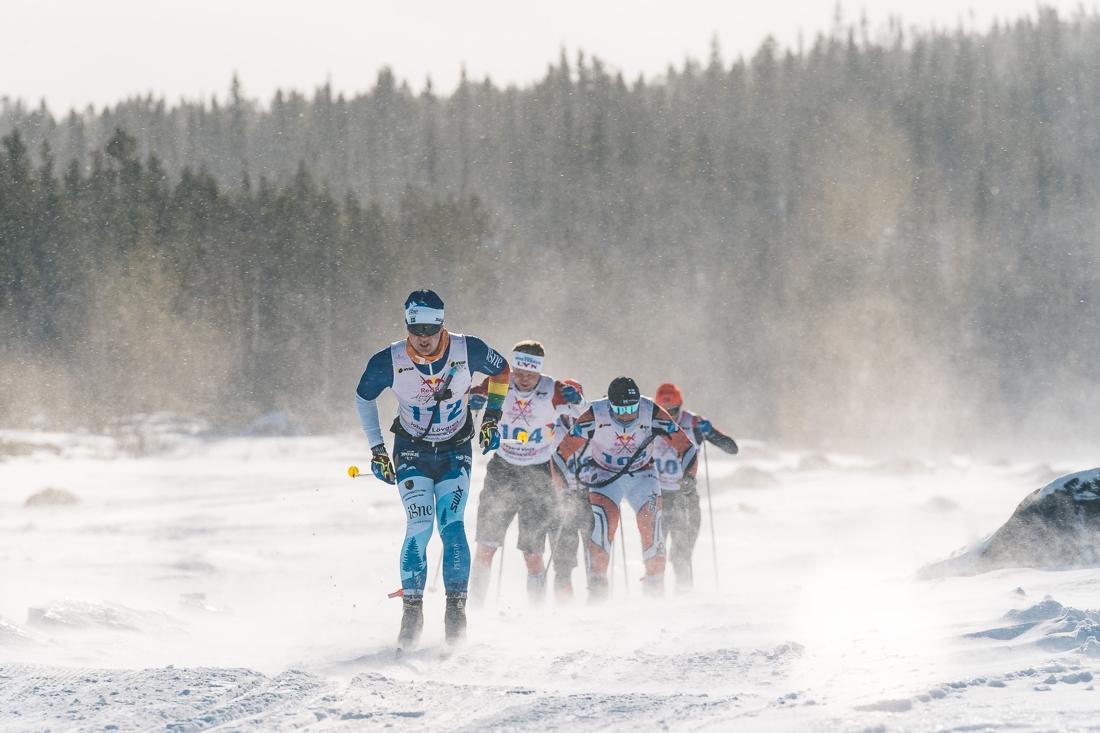 Johan Lövgren gjorde en start insatser och slutade sexa som bäste svensk. FOTO: Adam Klingeteg/Red Bull Content Pool.