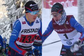 Fredrik och Ebba Andersson grejade en familjedubbel när de båda vann Dundret Hill Climb uppför Dundret i Gällivare på söndagen. FOTO: Längd.se.