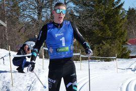 Pontus Nordström vann Norra Garberg Hill Climb med 21 sekunders marginal till Axel Bergsten. FOTO: Johan Trygg/Längd.se.