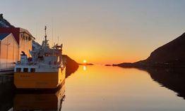 Solnedgang havn