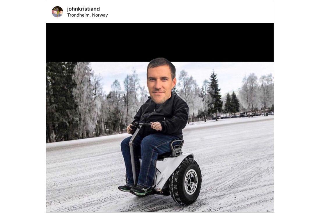 Trefaldige Vasaloppsvinnaren John Kristian Dahl avslutar karriären. Ny äventyr väntar skriver han på Instagram och publicerar den här bilden.
