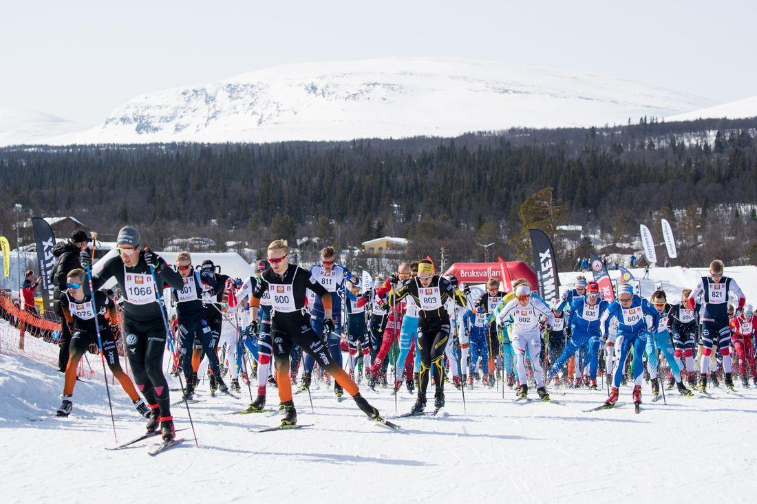 Hela Fjälltopphelgen som inleds med SM i sprintstafett på torsdag sänds live på webben. FOTO: Jocke Lagercrantz.