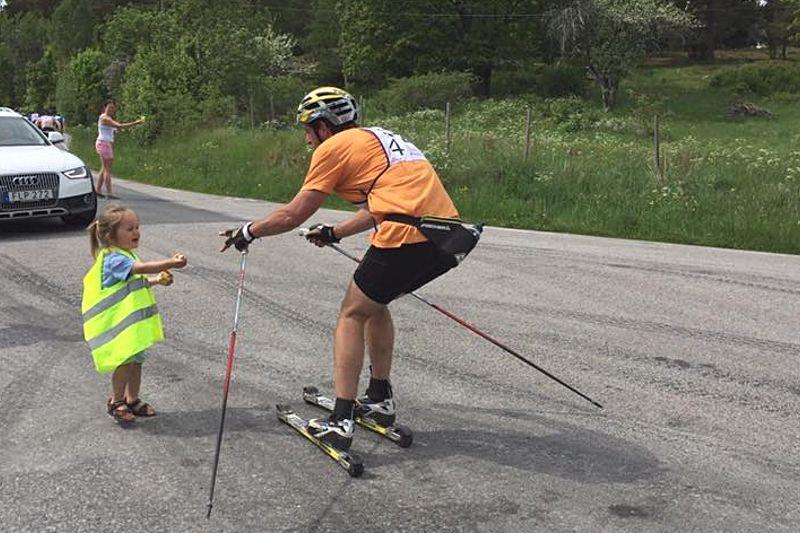 Rullskidgalejet i Norrtälje är en ny möjlighet att seeda sig till Vasaloppet på rullskidor. FOTO: Rullskidgalejet.
