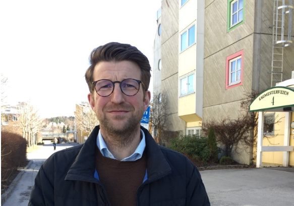 sektorleder for skole, Gisle Almlid-Larsen, Nye Steinkjer