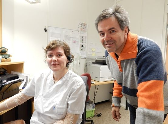 Bente Paulsrud og Knut Rudi