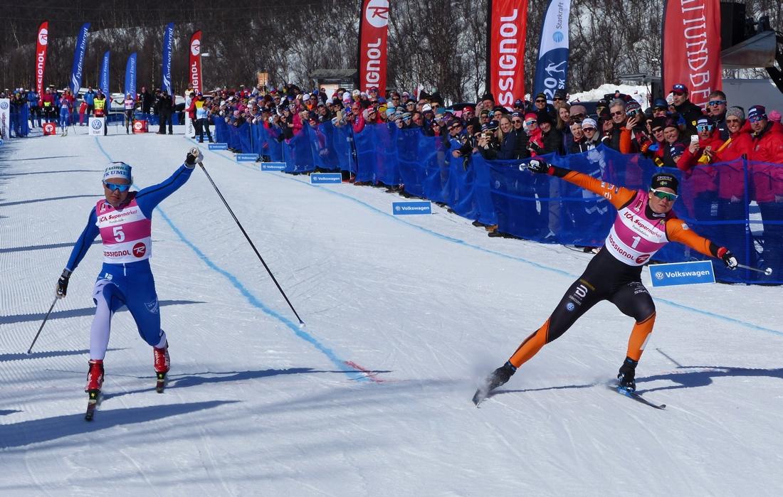 Maja Dahlqvist hade en tät match mot Linn Svahn i semifinalen. FOTO: Johan Trygg/Längd.se.