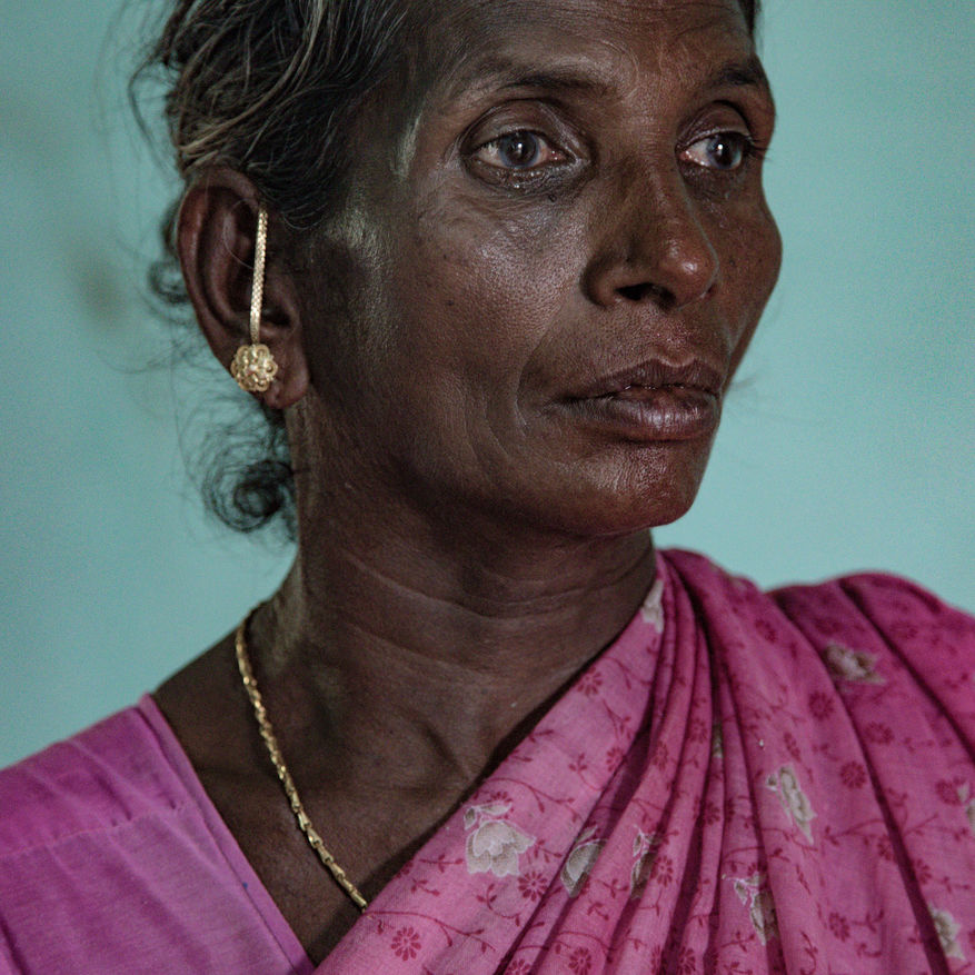 Image Name: Five Degrees   Photographer Name: Federico Borella   Year: 2019   Image Description: < />India, Tamil Nadu, May 2018. Rasathi, the wife of Selvarasy, a farmer who committed suicide in May 2017 by hanging himself in his own field. He got into debt with a cooperative society. A study carried out by Tamma A. Carleton, and published by PNAS (Proceedings of the National Academy of Sciences) analysed climate data from the last 47 years and compared it with the number of farmer suicides in the same period. The research concluded that changes in temperatures which have been occurring since the 1980s have played a role in the decision by thousands of farmers to take their own lives.</ />     Series Name: Five Degrees   Series Description: Could the dramatic increase in Indian farmers who take the