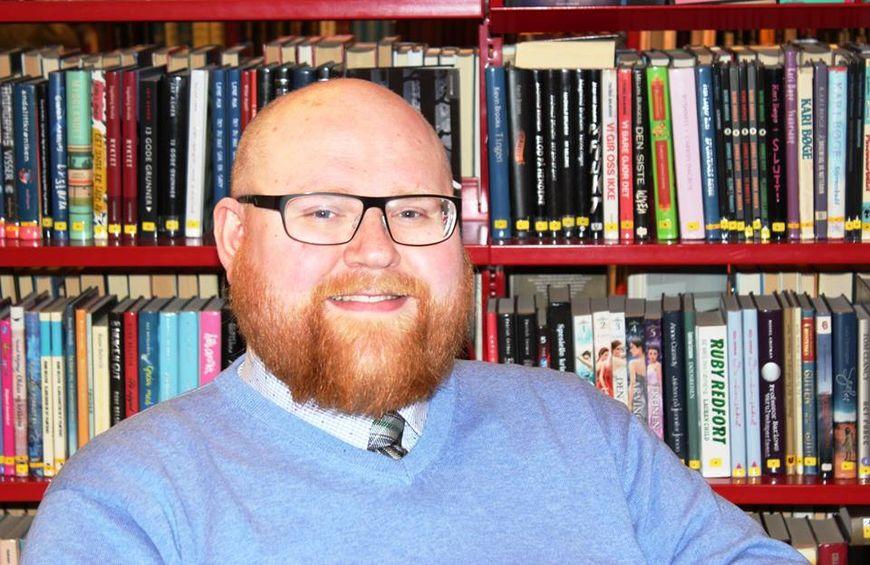 Ny biblioteksjef Henning Pedersen