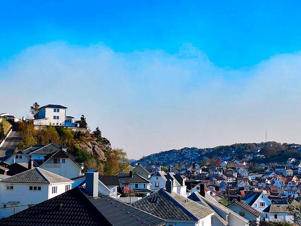 Røyk over Egersund