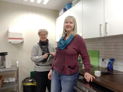 Ingrid Santi og Anne Pettersen