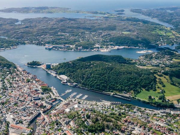 Sentrum og Eigerøy