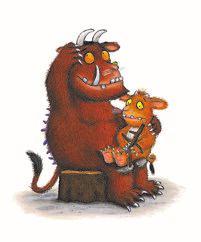 Gruffalo og Lille Gruffalo_figur