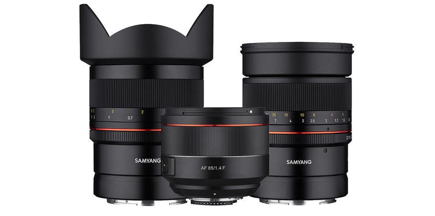 Tre fullformatobjektiver for Nikon er blant vårens nyheter fra Samyang.