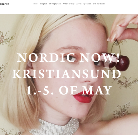 Nordic Light-festivalen går av stabelen i Kristiansund fra 1. til 5. mai 2019.